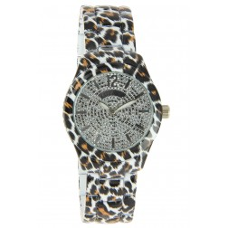 Montre Jungle blanche