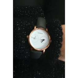 Montre Duo doree rose