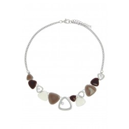 Collier Babou marron