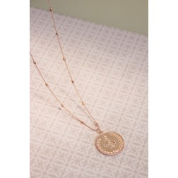 Collier Abeille Rose gold