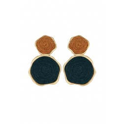Boucles Isao bleues