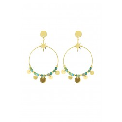 Boucles Norma pin africain