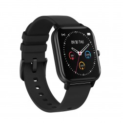 SmartWatch Sport rectangle noire