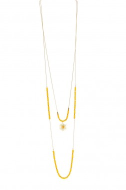 Collier Yellow doré