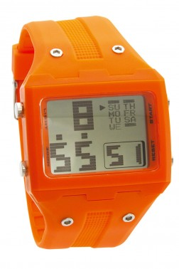 Montre Alban orange