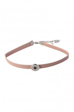 Choker Snap bao rose