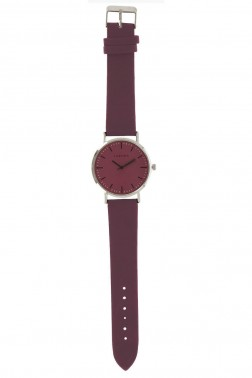 Montre Vario bordeaux