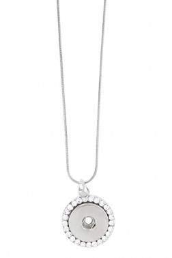 Collier Snap strass