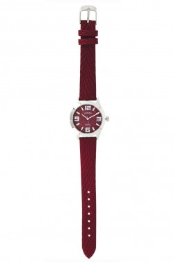 Montre Avenue rouge