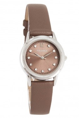 Montre City marron