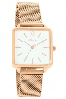 Montre LeCarré rose gold