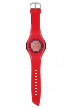 Montre Ozo rouge/orange