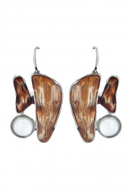 Boucles Zouka marron
