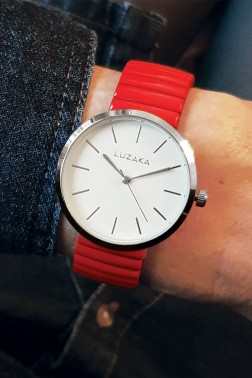 Montre Spirit rouge