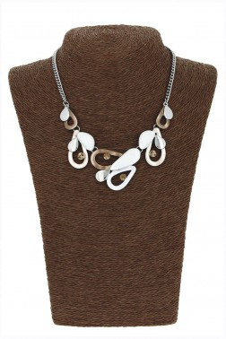 Collier Pazou marron