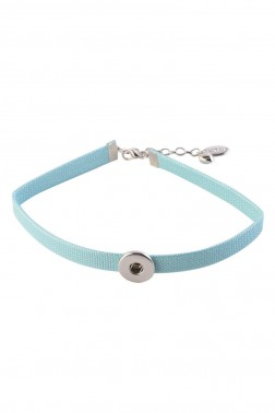 Chocker Snap bao bleu
