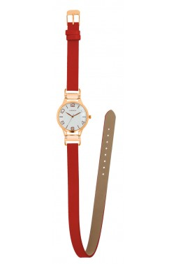Montre Gabie rouge
