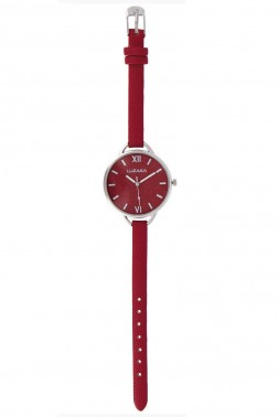 Montre Oléo rouge